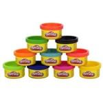 Massinha Play-doh - Cores de Festa com 10 Mini Potes