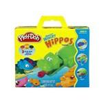 Massinha Play-doh - Kit Hungry Hippos - Hasbro