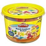 Massinha Play-Doh Mini Balde Amarelo Praia 23414 - Hasbro