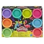 Massinha Play-Doh Neon - Conjunto com 8 Potes - Hasbro - HASBRO