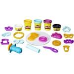 Massinha Play-doh Touch Moldar e Enfeitar - Hasbro