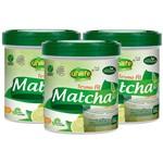 Matcha - Chá Verde - Solúvel 220g Kit com 3