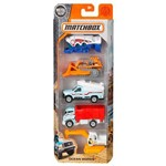 Matchbox - Pack com 5 - Ocean Works - Mattel