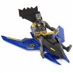 MATTEL - Batman com Veículo Batman e Batjet/Batnave - DC - DGF13