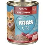 Max Cat Patê - Sabor: Carne e Frango - 280g