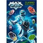 Max Steel - Turbo Aventura - com Adesivos