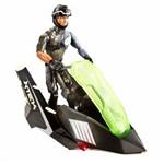Max Steel Turbo Missions Veiculo Ataque Duplo Mattel