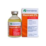 Maxicam Injetável 2% - 50 Ml