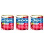 Maxinutri Colágeno Hidrolisado 2em9 Frutas Vermelhas 250g (kit C/03)