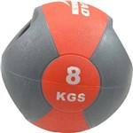 Medicine Ball com Manopla Ahead Sports AS1213F 8kg