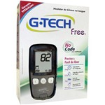 Medidor de Glicose Kit Free G-Tech