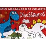 Mega Bloco de Colorir - Dinossauro