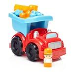 Mega Bloks - Caminhão de Lixo Vermelho - Fisher Price