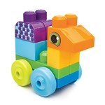 Mega Bloks First Builders 20 Peças Animais - Mattel