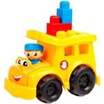 Mega Bloks - First Builders - Ônibus Escolar Sonny - Mattel
