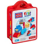 Mega Bloks First Builders Sacola 20 Peças Veículos CNH09 - Mattel