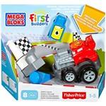 Mega Bloks First Builders Veículos de Corrida Zippy Zach - Mattel
