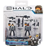 Mega Bloks Halo Armaduras Custom Soldados NMPD - Mattel