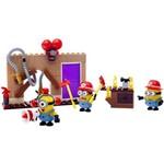 Mega Bloks Minions Conjunto Resgate de Incêndio - Mattel