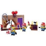 Mega Bloks Minions Mattel - Conjunto Minions Médio - Bombeiros