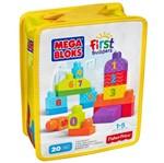 Mega Bloks - Sacola Números 20 Peças - Fisher Price