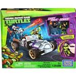 Mega Bloks Tartarugas Ninja Animation Carro Corrida - Mattel