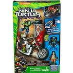 Mega Bloks Tartarugas Ninja Filme Ataque Motorizado Rocksteady - Mattel