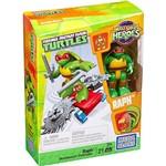 Mega Bloks Tartarugas Ninja JR com Skate Raphael - Mattel