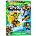 Mega Bloks - Tartarugas Ninja - Out Of The Shadows - Mikey - Turbo Skate - Mattel