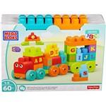 Mega Bloks Trem de Aprendizado ABC - Mattel