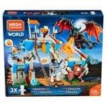 Mega Construx - Confronto do Castelo do Dragão Fny18 - Mattel - MATTEL