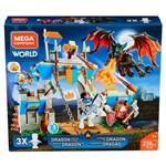 Mega Construx Confronto do Castelo do Dragão - Mattel