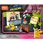 Mega Construx Pokemon Detetive Pikachu Hi-Hat Café - Mattel