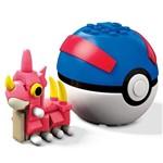 Mega Construx Pokemon Pokebola Wurmple - Mattel