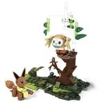 Mega Construx - Pokémon - Rowlet Vs. Eevee - 137 Peças - Mattel Mega Construx Meu Malvado Favorito 3 Carro do Gru - Mattel
