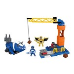 Mega Construx Power Rangers - Batalha do Ranger Azul - Mattel