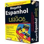 Mega Kit Espanhol para Leigos: (3 Livros + 4 CDs)