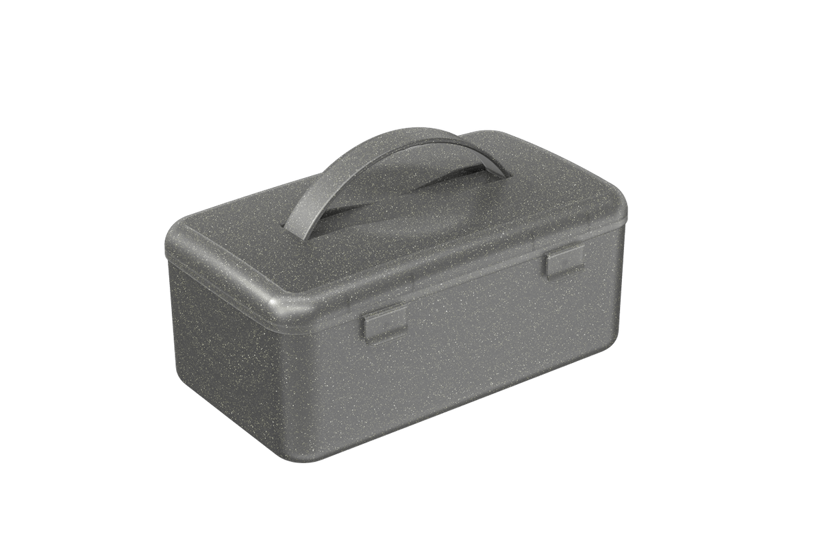 Mega Necessária 23,7 X 14 X 10,3 Cm Fumê Glitter Coza