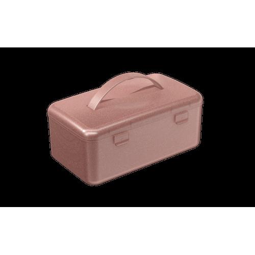 Mega Necessária 23,7 X 14 X 10,3 Cm Rosa Glitter Coza