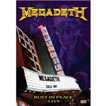 MegaDeath Rust In Peace Live - DVD Rock