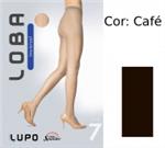 Meia Calça Lupo Invisível Fio 7 5870 | Dtalhe Calçados