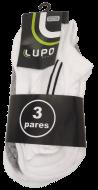 Meia Lupo Sport 3270-089 Algodão Kit 3 Pares | Dtalhe Calçados