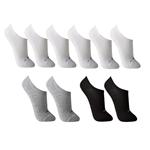 Meia Lupo Sport - Kit com 10 Pares (Adultop Tamanho: M | Cor: Sortida | Calçados: 33 a 38