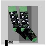 Meia Lupo Urban Yoda Star Wars Cano Alto 16907-003