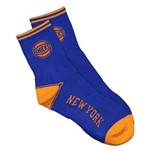 Meia Nba New York Knicks Cano Médio Azul 39-43