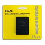 Memory Card 16mb Playstation 2 Ps2 Cartão de Memoria Lacrado - B-max