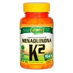Menaquinona K2 - Mk7 - 60 Cap. (500mg) - Unilife