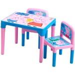 Mesa Cadeiras Peppa Pig