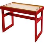Mesa de Apoio Vermelho (71,2x49x84cm) - Tramontina