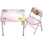 Mesa de Atividades com Cadeira das Princesas Pr-mb15s Fun